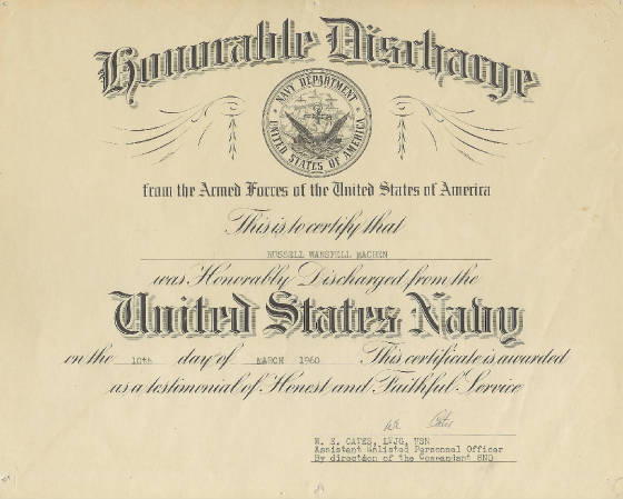 List honorable discharge on resume